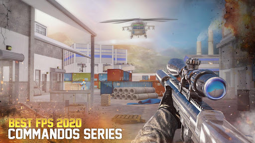 Real Commando Combat Shooter : Action Games Free android2mod screenshots 5