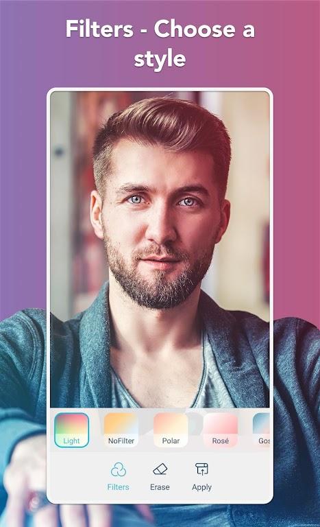 Facetune2 - Selfie Editor, Beauty & Makeover App  poster 3