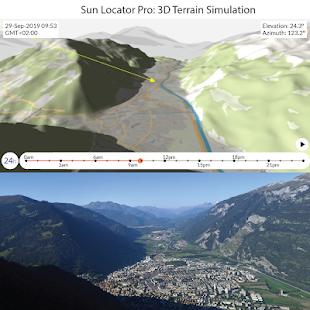Sun Locator Pro Screenshot