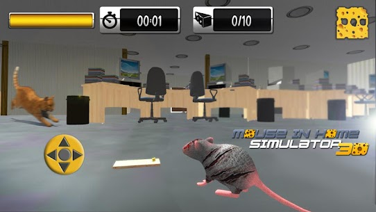 Mouse in Home Simulator 3D Mod Apk 2.9 (Unlimited Money, No Ads) 7