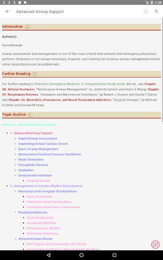 Tintinalli's Emergency Medicine Manual App  Screenshots 8