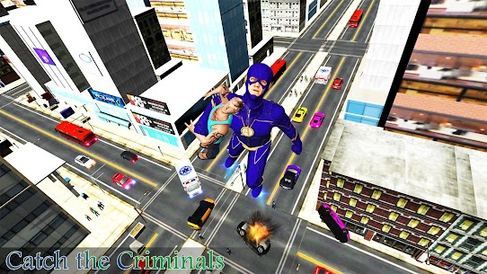 Super Speed Rescue Survival: Flying Hero Games 3