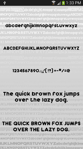 Clean2 font for FlipFont free ss3