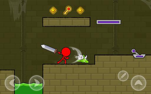 Red Stickman : Animation vs Stickman Fighting android2mod screenshots 12