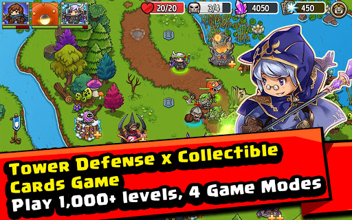 Crazy Defense Heroes: Tower Defense Strategy Game 2.4.0 screenshots 17
