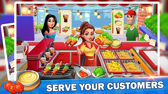 Cooking Mania – Food Fever & Restaurant Craze 4
