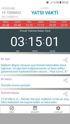 Ezan Vakti Alarmu0131 android2mod screenshots 7