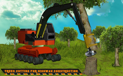 Highway Construction Road Builder 2020- Free Games 2.0 pic 2