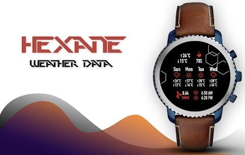 Hexane Watch Face and Clock Live Wallpaper 5