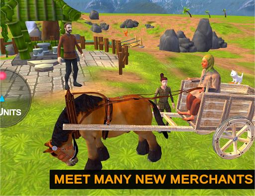 Horse Cart Offroad Farming Transport Simulator 1.2 screenshots 7