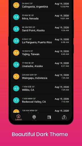 Earthquake Alerts 1.0.4 Screenshots 3