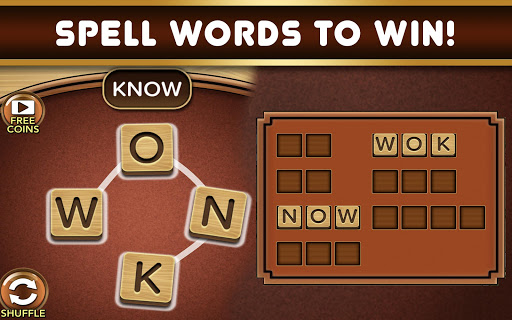 word fire: free word games without wifi! screenshot 1