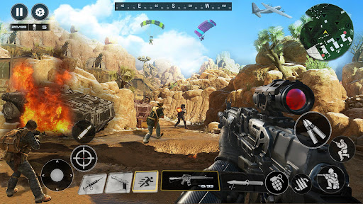 FPS Commando Shooting Games: Critical 3D Gun Games apktram screenshots 3