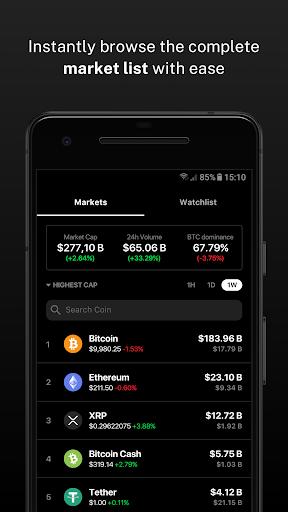 Delta - Bitcoin & Cryptocurrency Portfolio Tracker screenshots 4