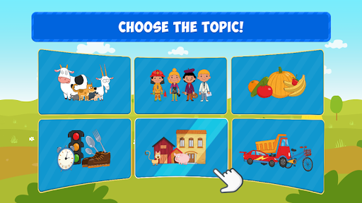 Blue Tractor Games for Toddlers 2 Years Old! Pre K apkmr screenshots 2