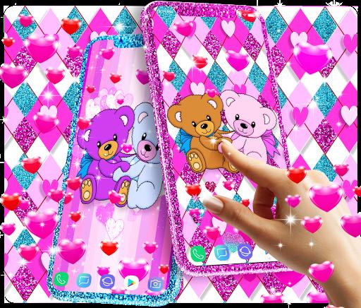 Teddy bear live wallpaper apktram screenshots 2