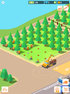 Idle Forest Lumber Inc: Timber Factory Tycoon