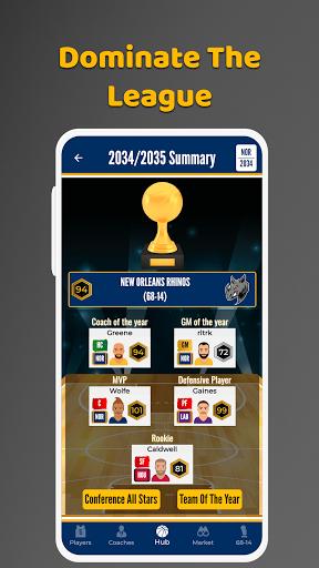 Ultimate Basketball General Manager - Sport Sim screenshots 6