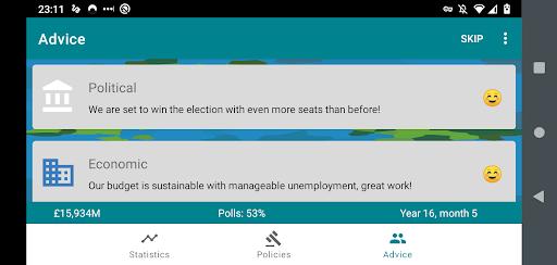 RandomNation - Politics Game 2.0.1 screenshots 2
