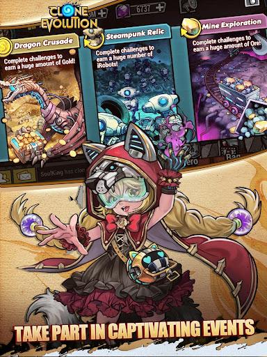Clone Evolution: Cyber War-Borderlands Fantasy  screenshots 7