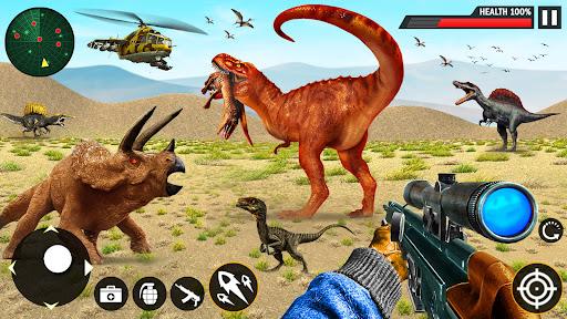 Real Dinosaur Hunter Hunting Games  screenshots 1