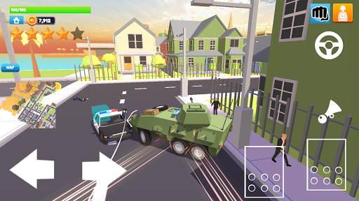Rage City - Open World Driving And Shooting Game Apkfinish screenshots 23