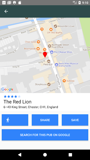 The Pub Finder 1.40 screenshots 2