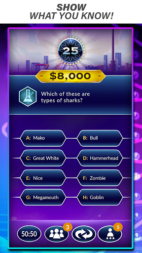 Who Wants to Be a Millionaire? Trivia & Quiz Game Apkfinish screenshots 1