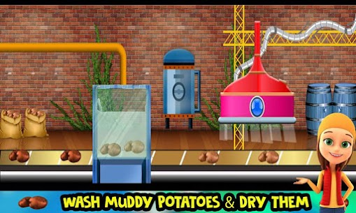 Potato Chips Snack Factory: Fries Maker Simulator 1.0.8 Android Mod APK 2