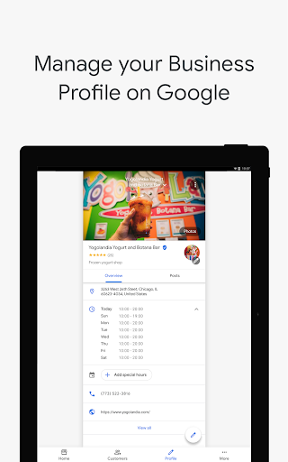 Google My Business - Connect with your Customers 3.33.0.346655744 Screenshots 11