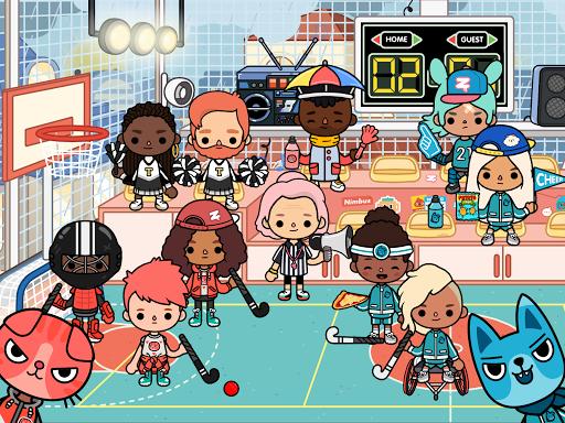 Toca Life: After School android2mod screenshots 12