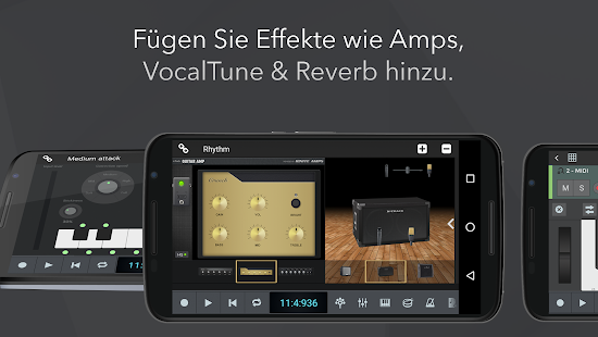 n-Track Studio: Audio-Aufnahme & Beat Maker Screenshot