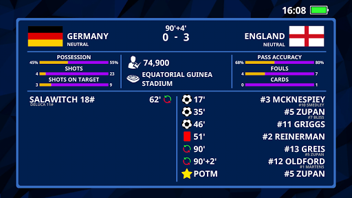 International Football Simulator 20.11.3 screenshots 5
