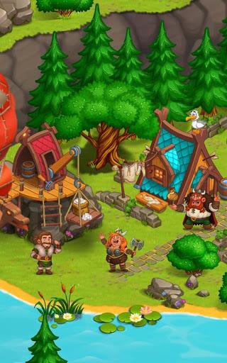 North Dragon Island - build Vikings Farm  screenshots 3