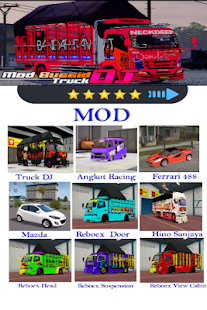 Mod BussiD Truck DJ 1.1 Screenshots 3
