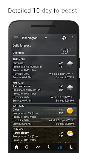 Sense Flip Clock & Weather 5.81.7 Screenshots 14