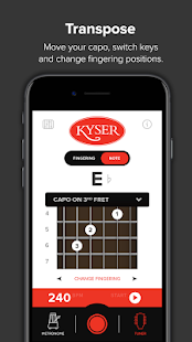 Kyser Capo App