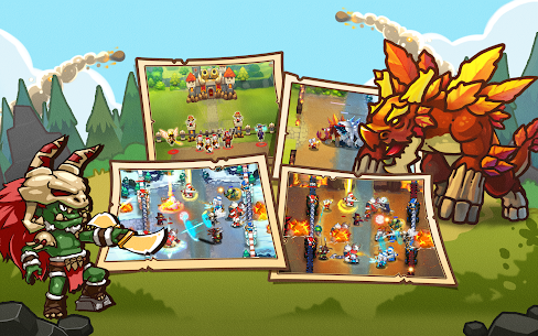 King Rivals: War Clash MOD APK 1.3.4 (Unlimited Money) 11