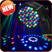 Disco Light LED - Flashlight Strobe Blinking Light