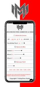 MacroTouch App - Acelerar DPI - YoSoyChino Studio 1.0