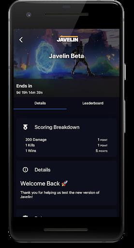 javelin screenshot 2