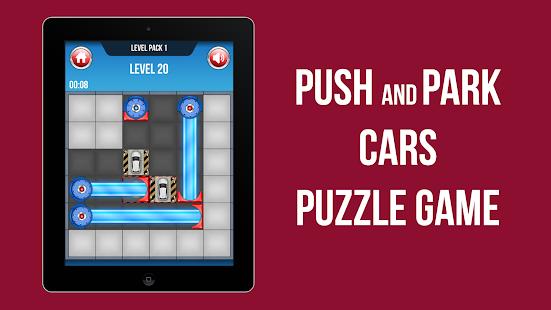 RoboPark: Car Parking Puzzle, Pushing Sokoban Game