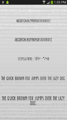 Fonts Clean for FlipFont® Free For PC Windows (7, 8, 10, 10X) & Mac Computer Image Number- 5