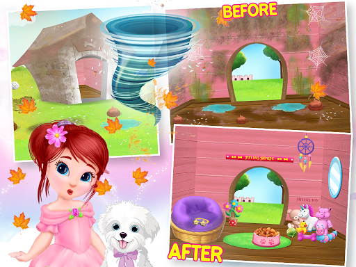 Princess House Cleanup For Girls: Keep Home Clean apkpoly screenshots 13