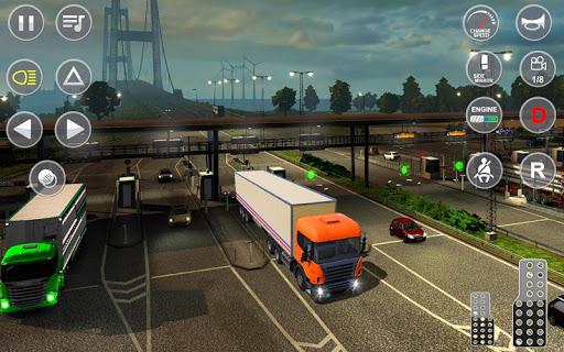 Euro Truck Transport Simulator 2: Cargo Truck Game android2mod screenshots 4