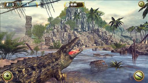 Crocodile Hunt and Animal Safari Shooting Game  screenshots 2