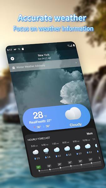Weather Forecast - Local Forecast - Radar - Widget