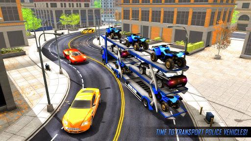 US Police ATV Quad Bike Plane Transport Game 1.4 Screenshots 5