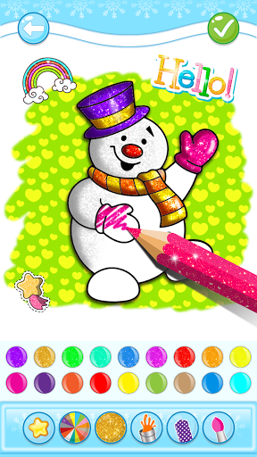 Christmas Coloring Game - Learn Colors  screenshots 6