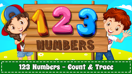 Learn Numbers 123 Kids Free Game - Count & Tracing  screenshots 1